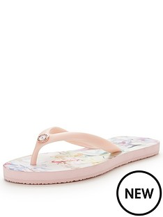 ted-baker-ryasa-floral-flip-flop
