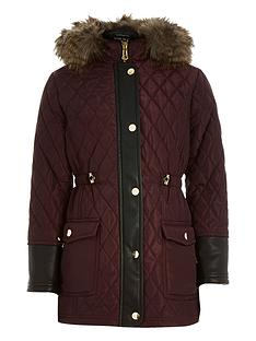 river-island-girls-quilted-long-line-parka