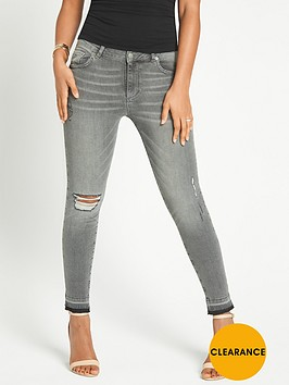 rochelle-humes-ripped-ankle-grazer-skinny-jeansnbsp