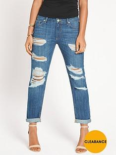 rochelle-humes-distressed-boyfriend-jeans