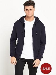 river-island-faux-suede-panel-mens-hoodie