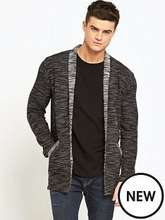 river-island-cotton-blend-mens-cardigan
