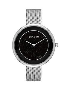 skagen-skagen-gitte-sparkled-center-dial-silver-steel-mesh-ladies-watch