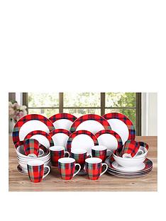 red-tartan-32-piece-dinner-set