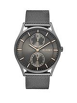 Holst Multifunction Grey Dial Gunmetal Mens Watch