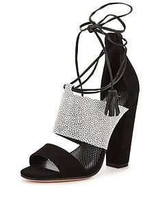 paper-dolls-nixienbspmonochrome-tie-up-court-shoes