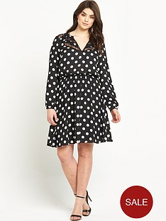 so-fabulous-print-lace-insert-long-sleeve-dress