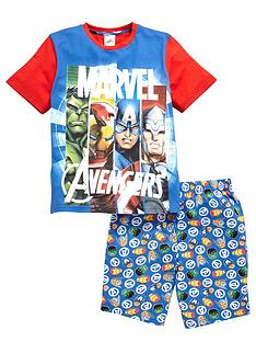 marvel-boys-avengersnbspshorty-pyjamas
