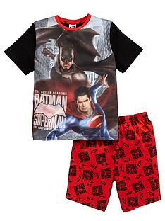 batman-vs-superman-boys-shorty-pyjamas