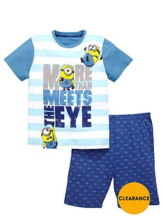 minions-boys-shorty-pyjamas