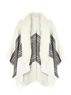 river-island-river-island-fur-trim-cape