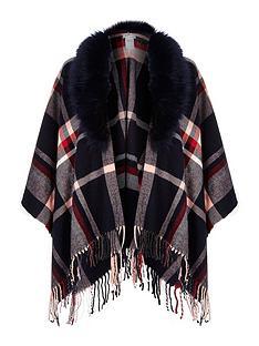 river-island-faux-fur-trim-cape