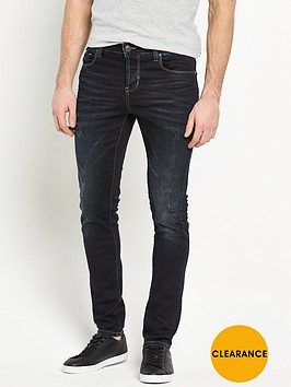 883-police-883-police-laker-rip-and-repair-slim-jeans