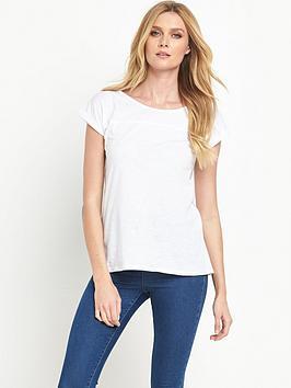 v-by-very-turn-back-cuff-t-shirt