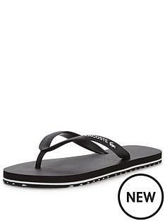 lacoste-lacoste-nosara-flip-flop-blackwhite