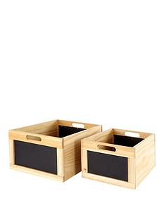 set-of-2-natural-oak-wooden-storage-crates