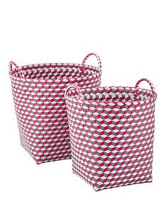 set-of-2-rounds-baskets-pink