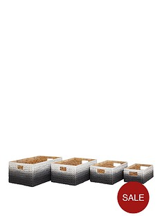 set-of-4-dip-dyed-storage-boxes-black