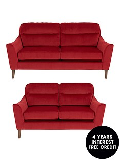 cavendish-poppy-3-seaternbsp-2-seaternbspfabric-sofa-set-buy-and-save