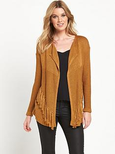 v-by-very-tassle-detail-waterfall-front-cardigan