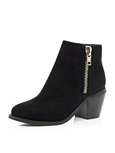 river-island-girls-zip-trim-ankle-boots