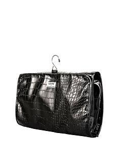 nyx-makeup-bags-black-croc-travel-bag