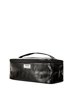 nyx-makeup-bags-black-croc-zipper-case