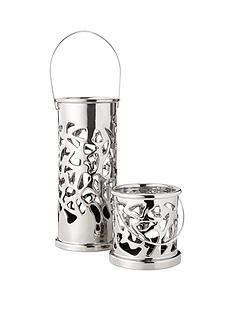 set-of-2-candle-holders-in-silver
