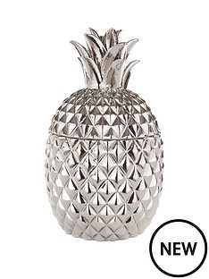 fearne-cotton-pineapple-pot-silver
