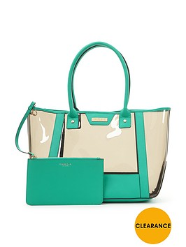 carvela-perspex-neon-beach-bag