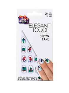 elegant-touch-elegant-touch-snow-fake-christmas-nails