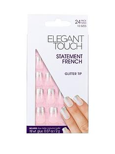elegant-touch-elegant-touch-statement-french-glitter-tip-pink-nails