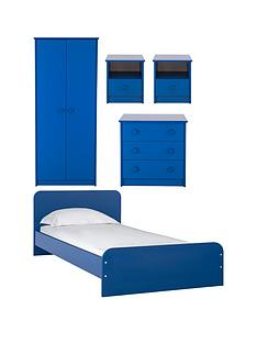 marlow-5-piece-kids-bedroom-furniture-package-wardrobe-bed-3-drawer-chest-2-bedside-chests-blue-or-pink