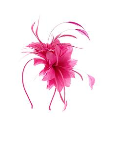 feather-amp-flower-fascinator