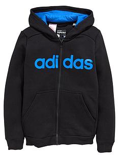 adidas-adidas-youth-boys-essential-linear-fz-hoody