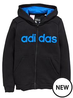 adidas-adidas-youth-boys-essential-linear-fz-hoody