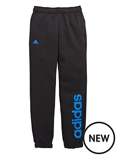 adidas-adidas-youth-boys-essential-linear-fleece-pant