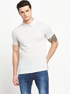 v-by-very-short-sleeve-nepp-jersey-polo