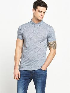 v-by-very-short-sleeve-nepp-polo-top