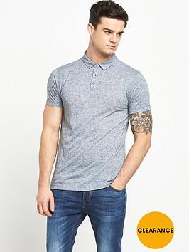 v-by-very-short-sleeve-nepp-polo-top