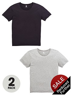 v-by-very-2-pack-rolled-hem-t-shirts
