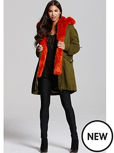 little-mistress-khaki-jacket-with-orange-lining