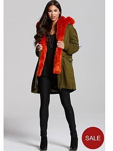 little-mistress-khaki-jacket-with-orange-lining