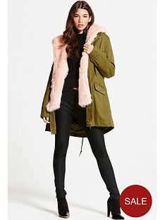 little-mistress-parka-coat-with-contrast-faux-fur-lining