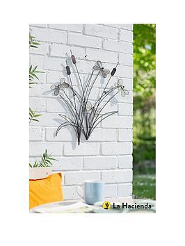 la-hacienda-reeds-and-dragonflies-wall-art