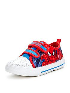 spiderman-boys-canvas-strap-shoes