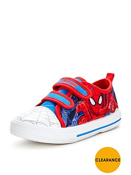 spiderman-boys-canvas-strap-shoes