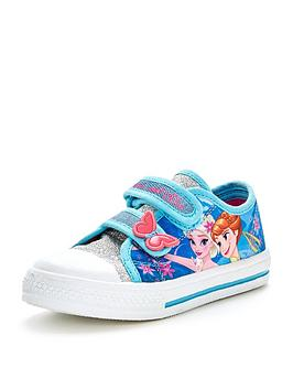 disney-frozen-younger-girls-canvas-shoes