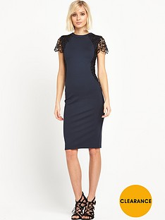 river-island-lace-trim-bodycon-midi-dress