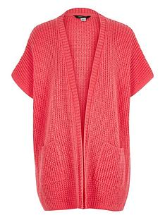 river-island-girls-knitted-short-sleeve-cardigan